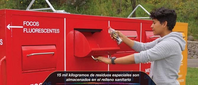 15 mil kilogramos de residuos especiales son almacenados en el relleno sanitario