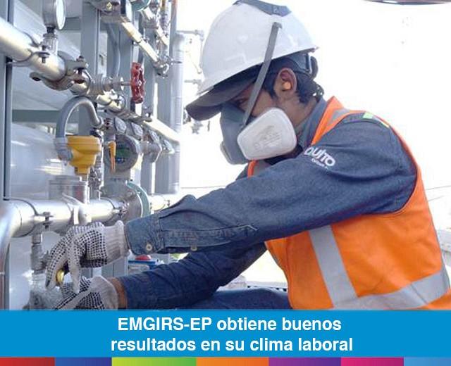 EMGIRS-EP obtiene buenos resultados en su clima laboral