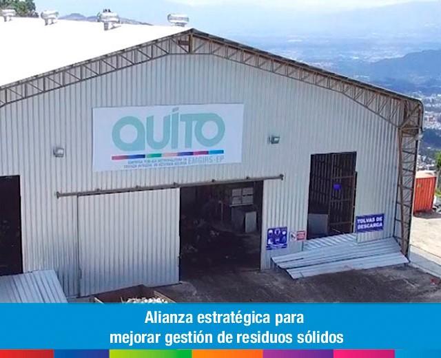 Alianza estratégica para mejorar gestión de residuos sólidos