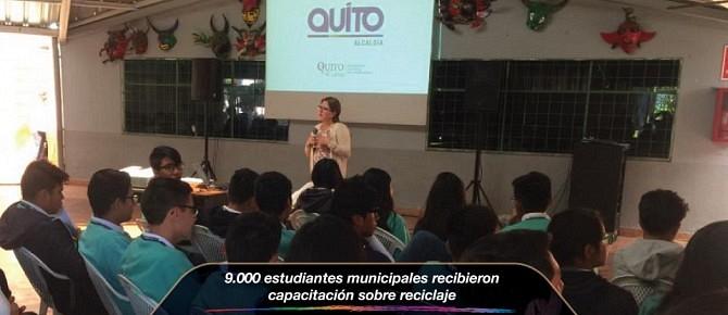 9.000 estudiantes municipales recibieron capacitación sobre reciclaje