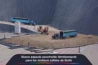 Nuevo espacio construido técnicamente para los residuos sólidos de Quito