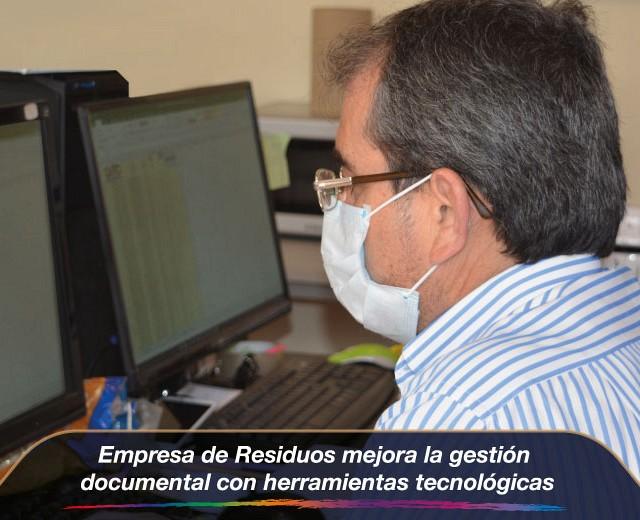 Empresa de Residuos mejora la gestión documental con herramientas tecnológicas