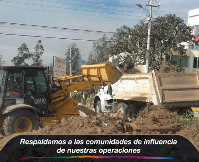 Municipio ayuda a las comunidades de las operaciones de residuos sólidos de Quito