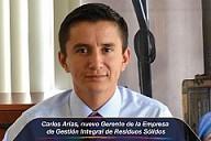 Carlos Arias, nuevo Gerente de la Empresa de Gestión Integral de Residuos Sólidos